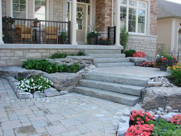 Best Front Entrance Natural Stone Google Search Landscape 400 x 300