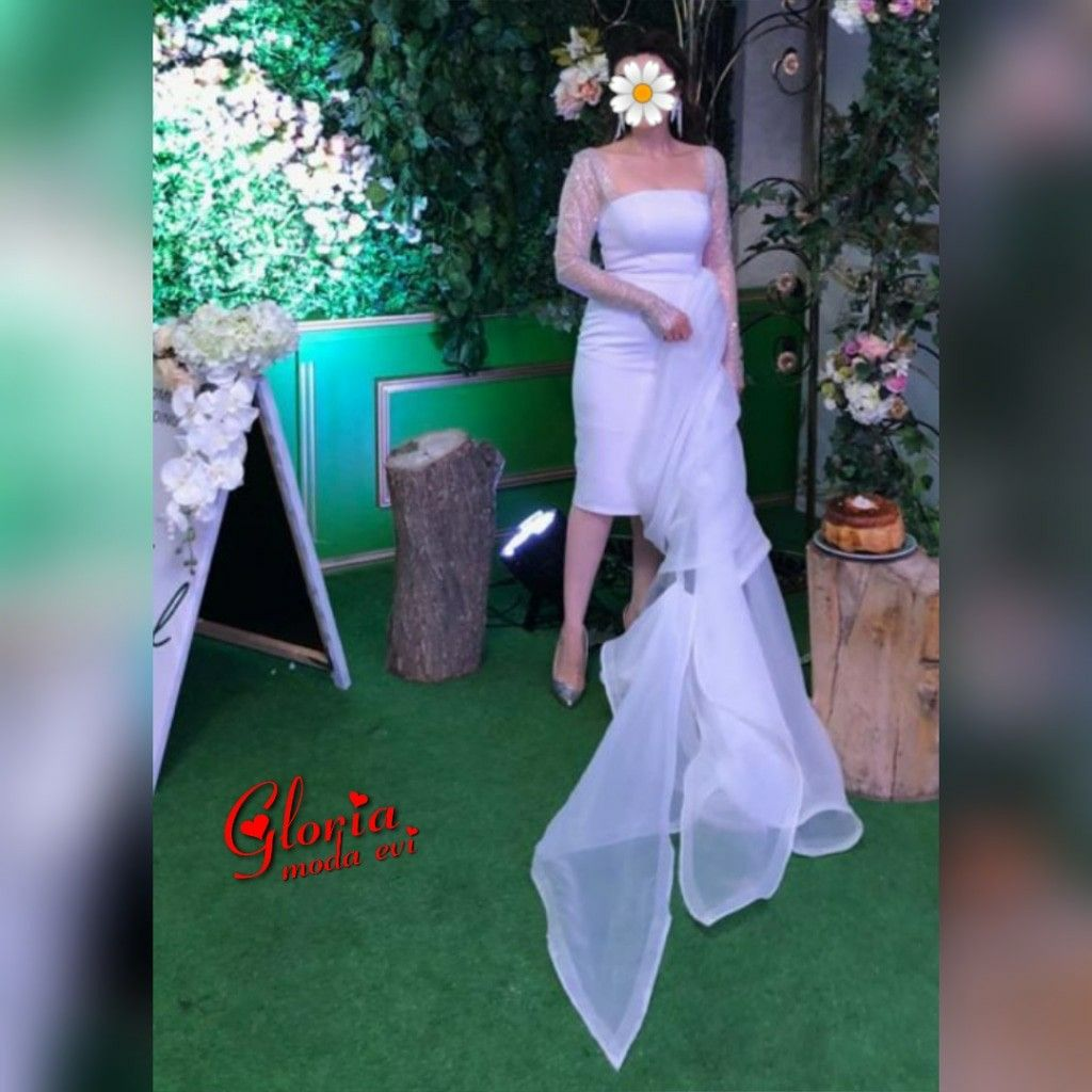 Gloria Moda Evi White Formal Dress Dresses Formal Dresses