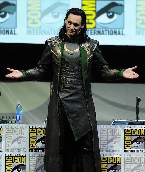 Loki. #SDCC 2013.  Tom Hiddleston