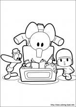 pocoyo coloring pages on coloring-book.info | pocoyó | pinterest ... - Pocoyo Friends Coloring Pages