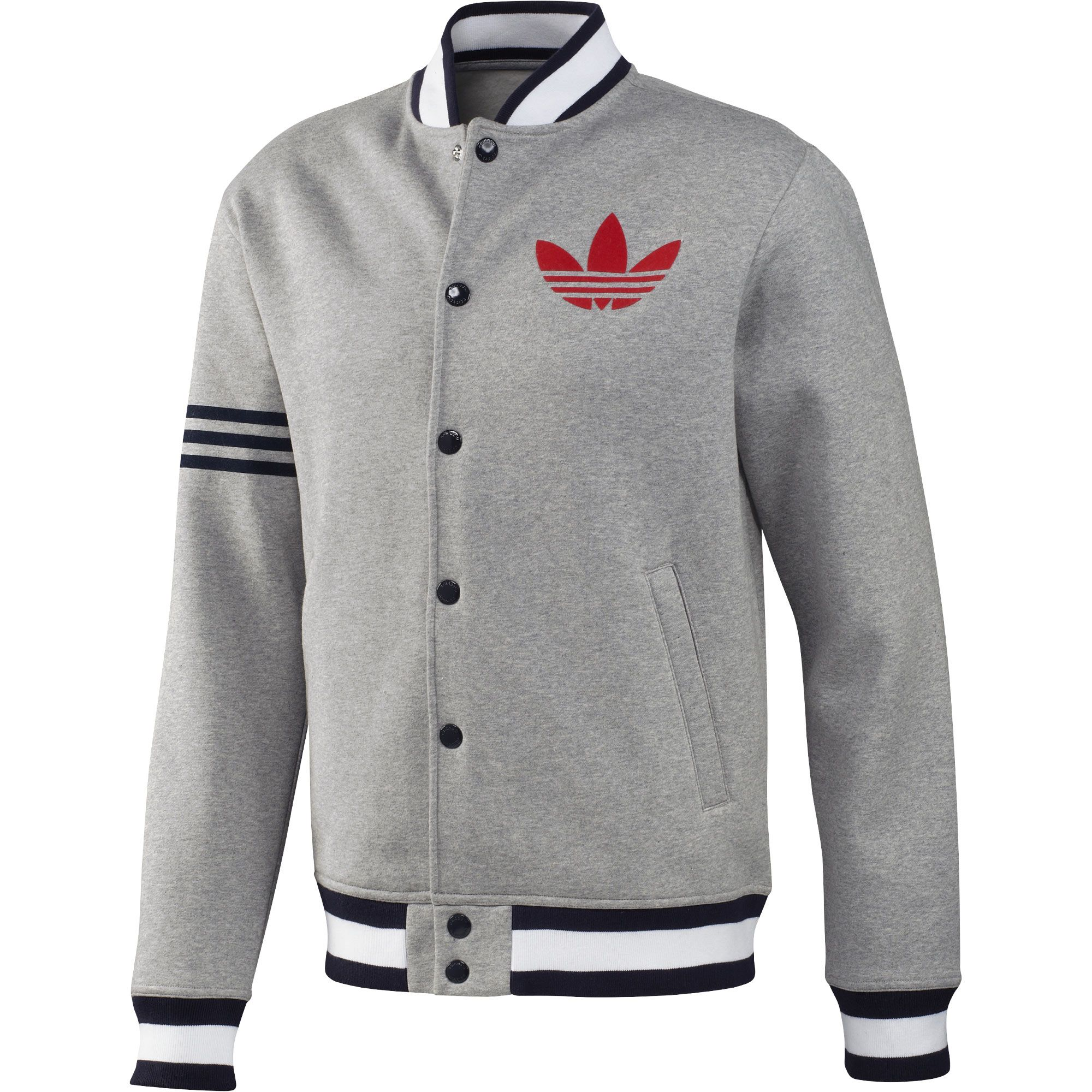 5af84bfdcab0 adidas Men s Superstar Fleece Remix Jacket