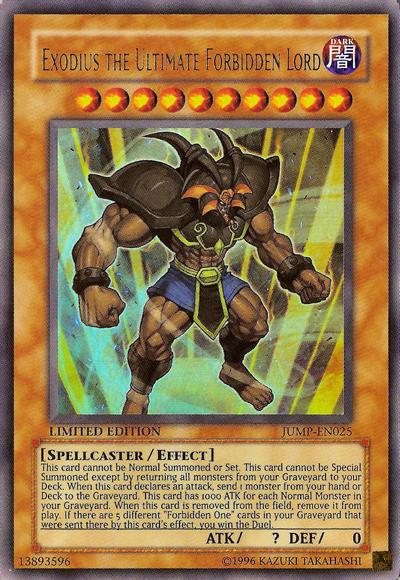 Megapost dioses egipcios y exodia de yugioh Cards