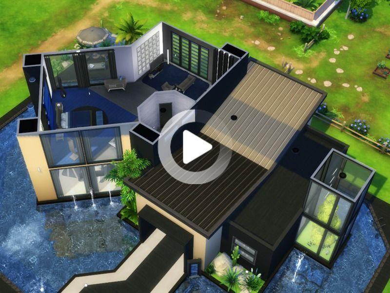 Alvelips Tampala Kein Cc In 2020 Sims Haus Sims 4 Hauser Moderne Hauser