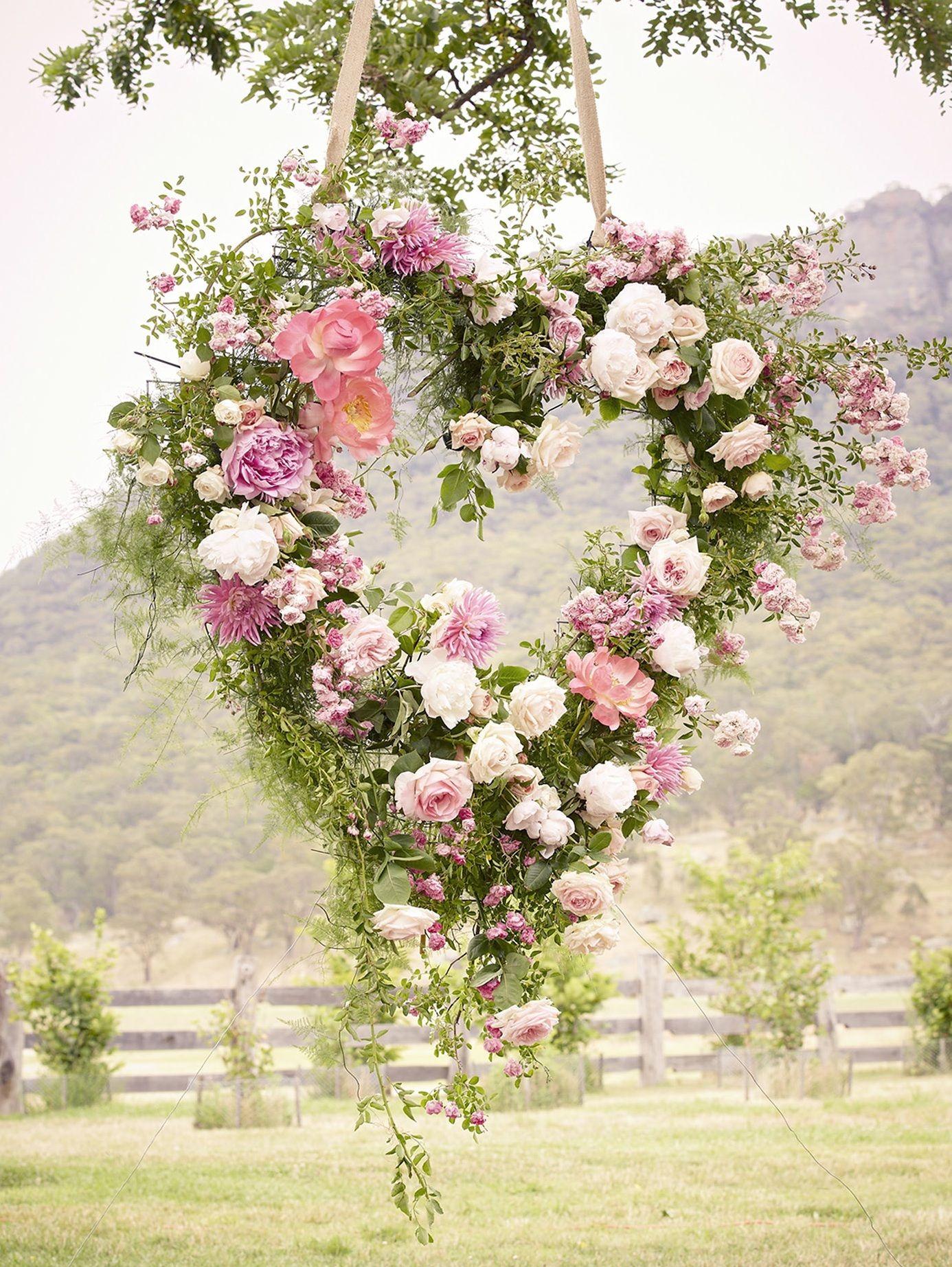 40 Heart Shape Wedding Ideas