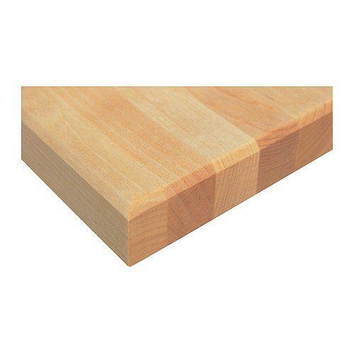 VÄRDE Countertop, birch birch 57 1 2x25 5 8 Kitchen Pinterest