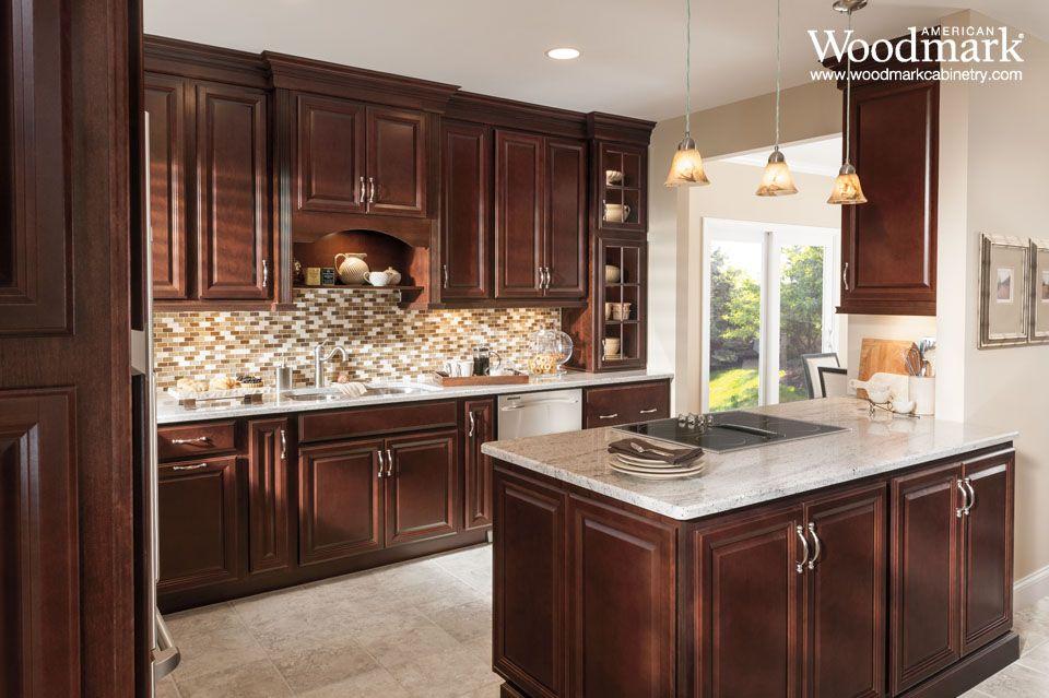 Portland Cherry Bordeaux Kitchen  Kitchen Inspirations Gorgeous Cabinet Design Kitchen Design Inspiration