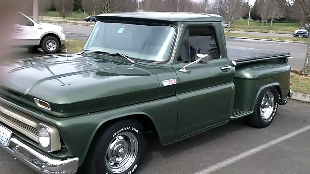 1965 chevy truck, flowmasters sound good! Chevy pickups