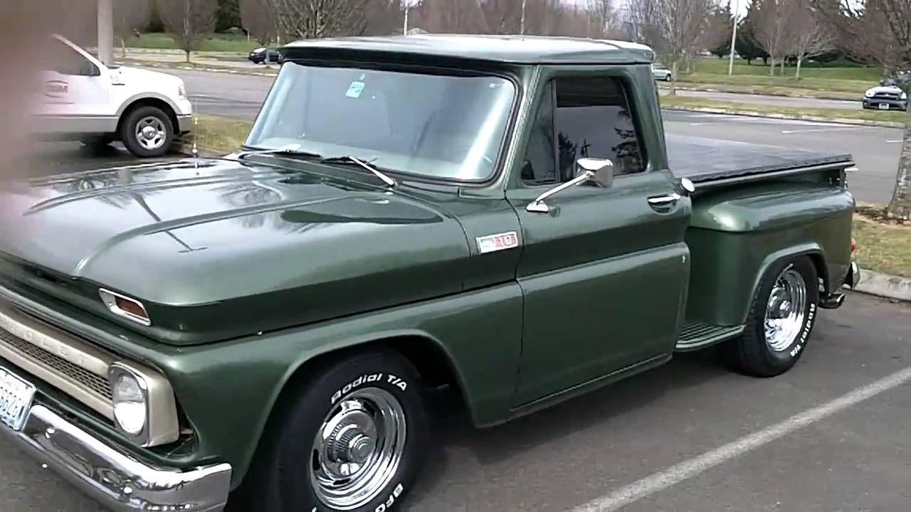 medium resolution of 1965 chevy truck flowmasters sound good