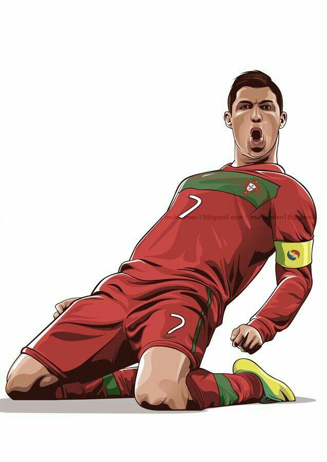 Cristiano Ronaldo Portugal Desenho De Jogador De Futebol Desenho Futebol Jogadores De Futebol