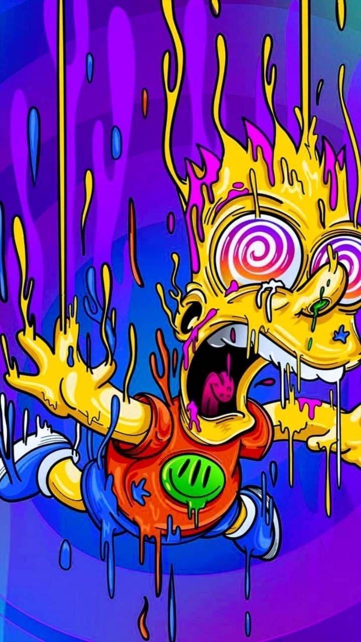 Psychdedlic 60's image by Jay Neselo Simpsons art