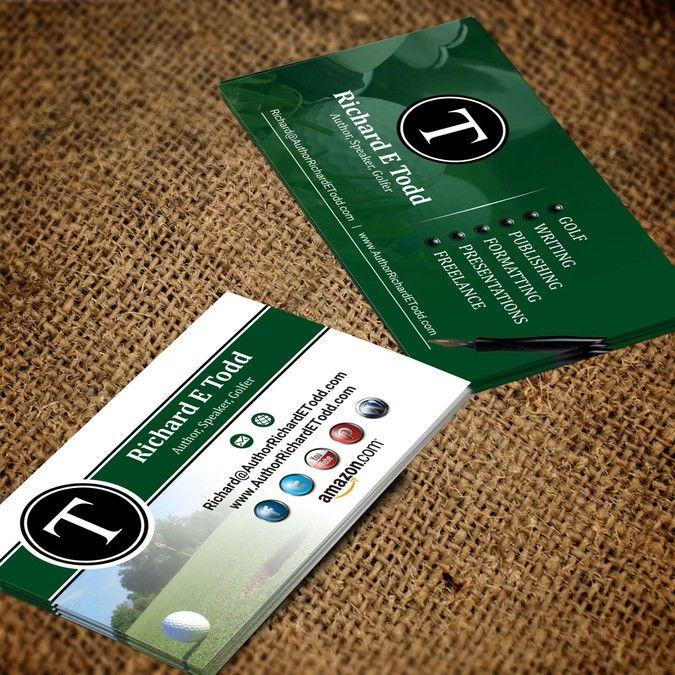 Author business card by im armand logo pinterest business author business card by im armand colourmoves