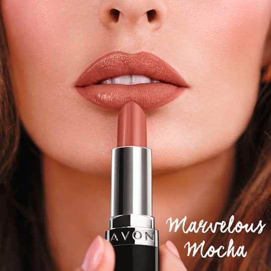 Perfectly Matte Marvelous Mocha Avon B E A U T Y Avon Lipstick