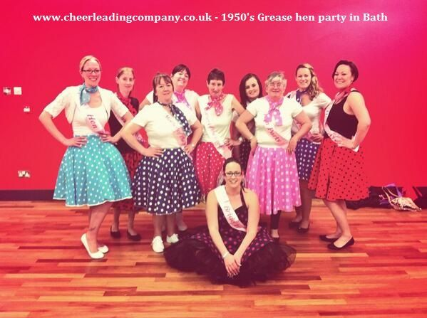 Grease Hen Party In Bath Perfect For Fans Of The Movie Lovecheerleadingcompany