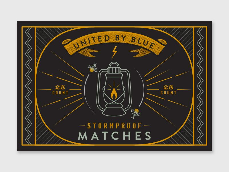 Matchbox Cover Concept by Lindsay Muir