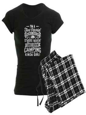 d022090ae51a4a CafePress - Love Camping T Shirt Pajamas - Women s Dark Pajamas ...
