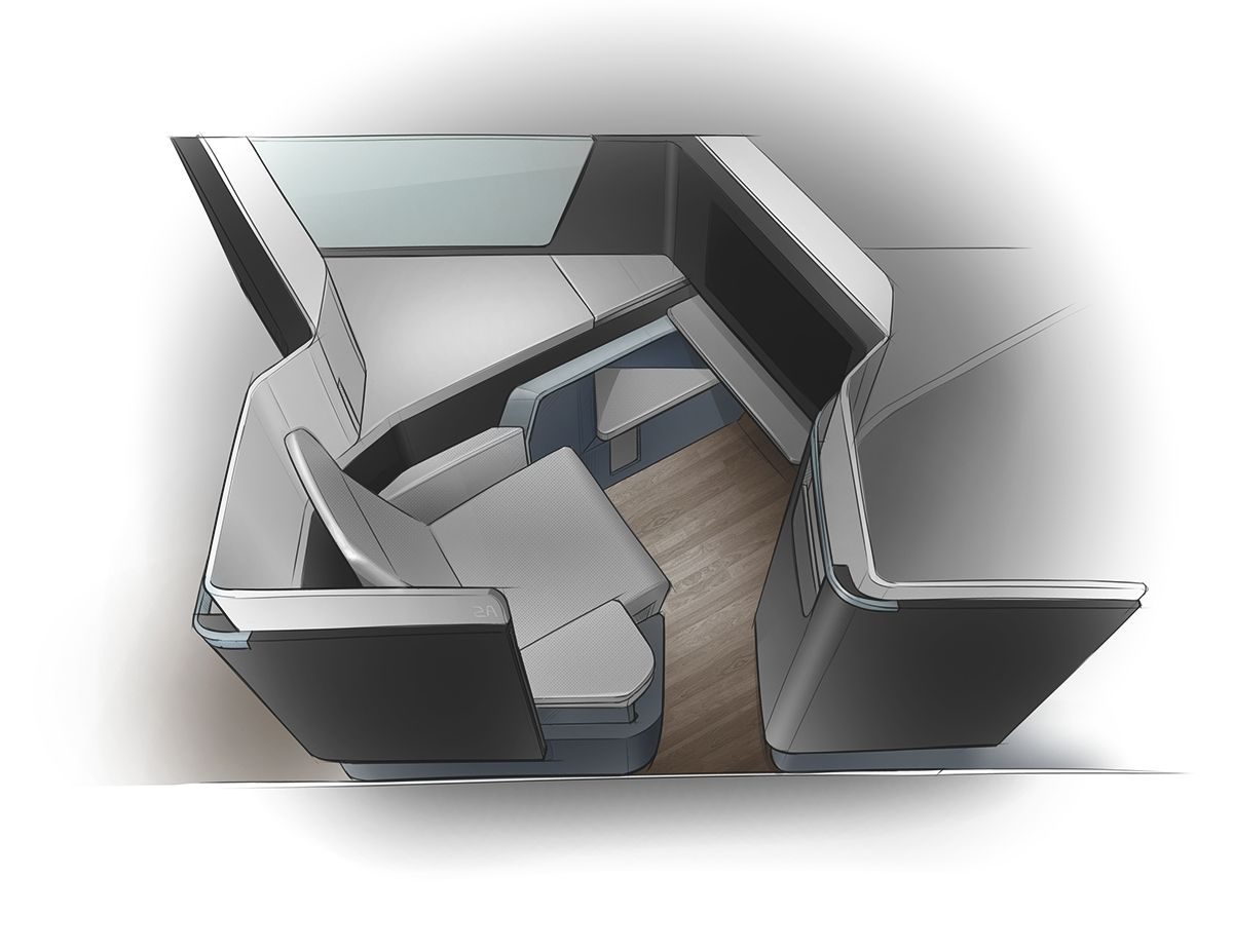 innovative cabin interior design | Waterfront Business Class Seat on Behance | ID-坐相关 ...