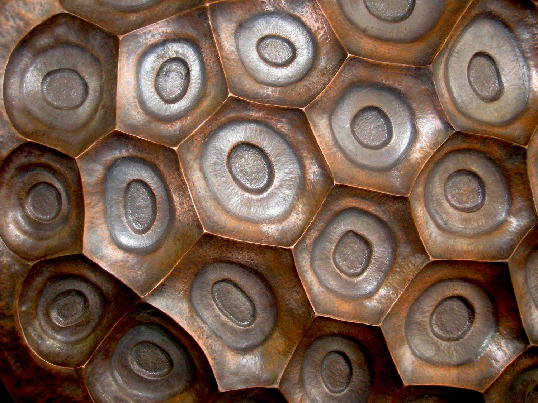 Copper Repousse Wall Art Artist Sculptor Metalsmith Metal Wall Sculpture Repousse Wall Sculptures