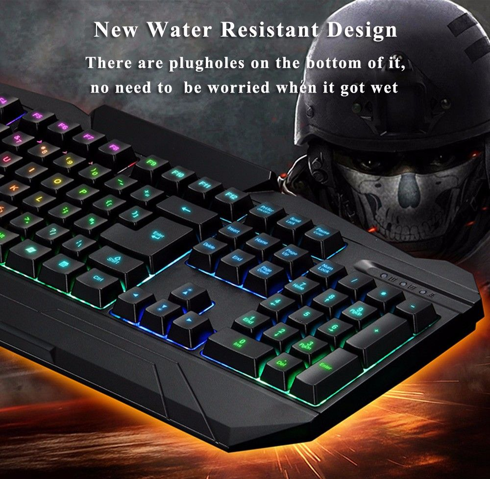 Just US$26.59, buy Motospeed S69 Colorful Backlit Gaming Keyboard and Mouse online shopping at GearBest.com Mobile.