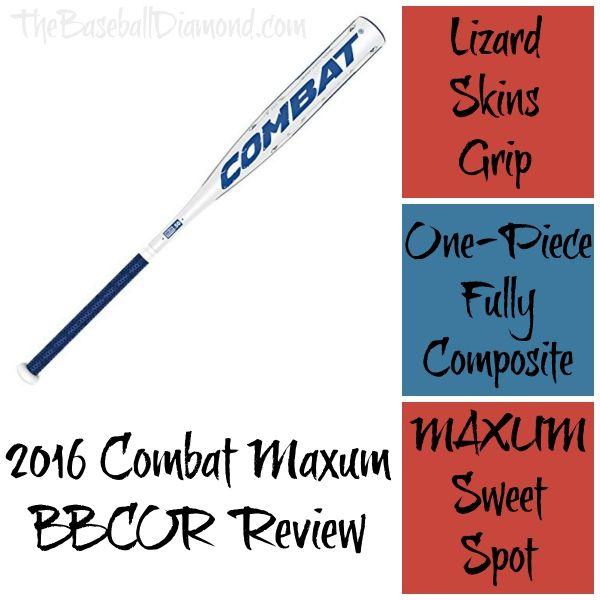 2016 Combat Maxum BBCOR Review – Most Forgiving Bat? | *Love