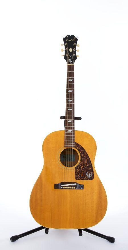 1960 S Epiphone Texan Ft 79n Natural Acoustic Guitar 809841 Lot 81193 Heritage Auctions Epiphone Epiphone Guitars Acoustic