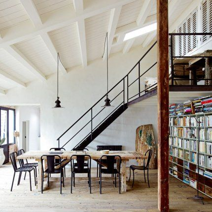 Loft style industriel d coration d 39 int rieur pinterest for Interieur industriel