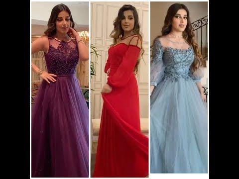 فساتين سهرة 2020 موديلات جديدة غاية في الأناقة Youtube Dresses Wedding Dresses Mermaid Wedding Dress