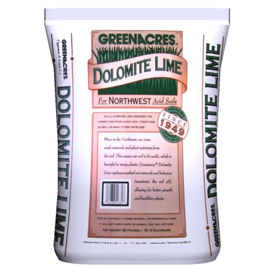Greenacres 2 000 Sq Ft Dolomite Lime Organic Or Natural Lawn Fertilizer Dolomite Lawn Fertilizer Organic Lawn Care