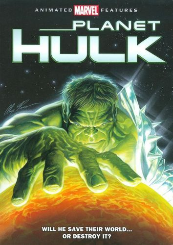 Planet Hulk Dvd 2010 Best Buy Hulk Pelicula Peliculas Marvel Peliculas Completas