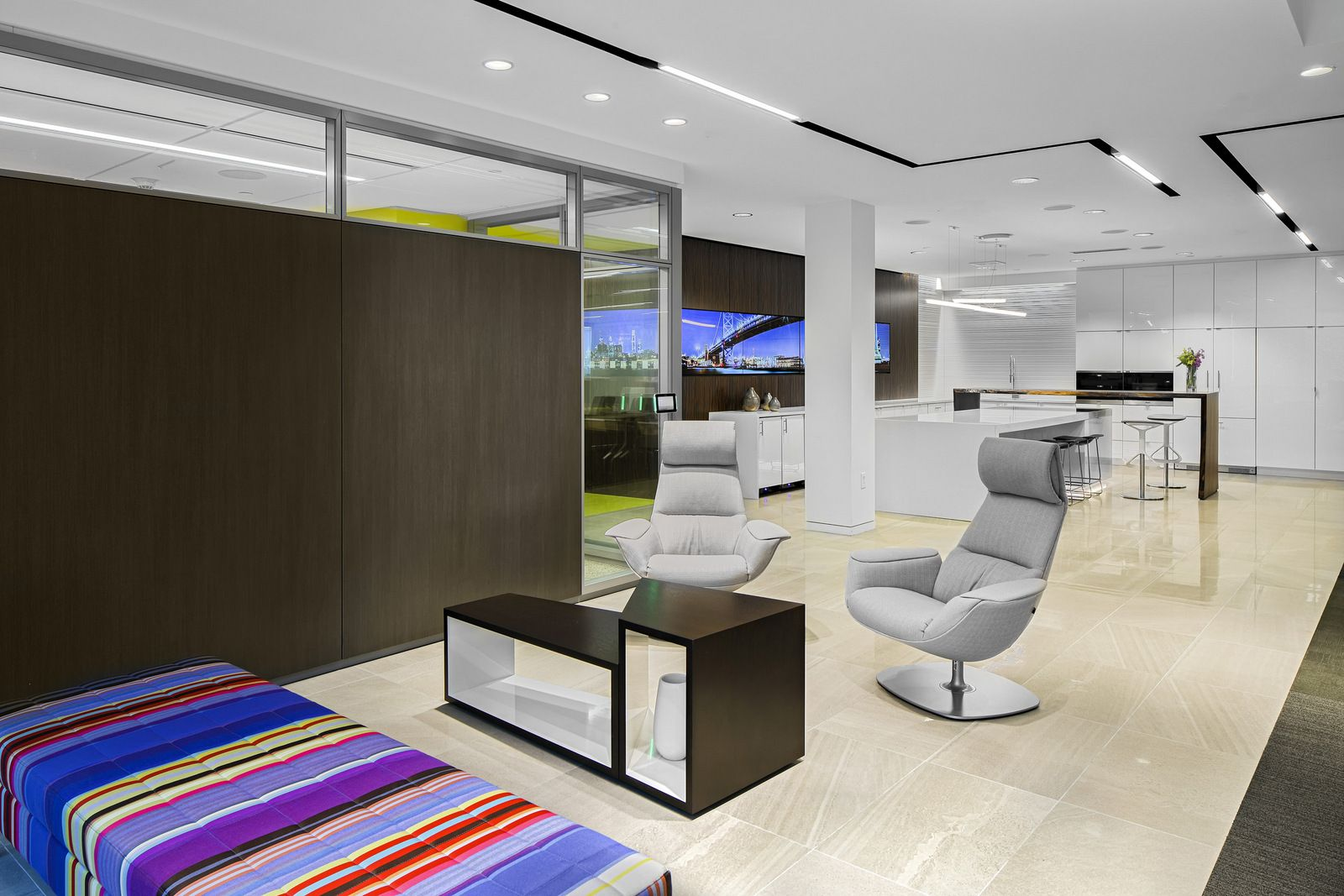 office lounge design. Office Lounge Featuring Massaud Chairs At The Corporate Interiors WorkLife Studio Offices - Snapshots Design