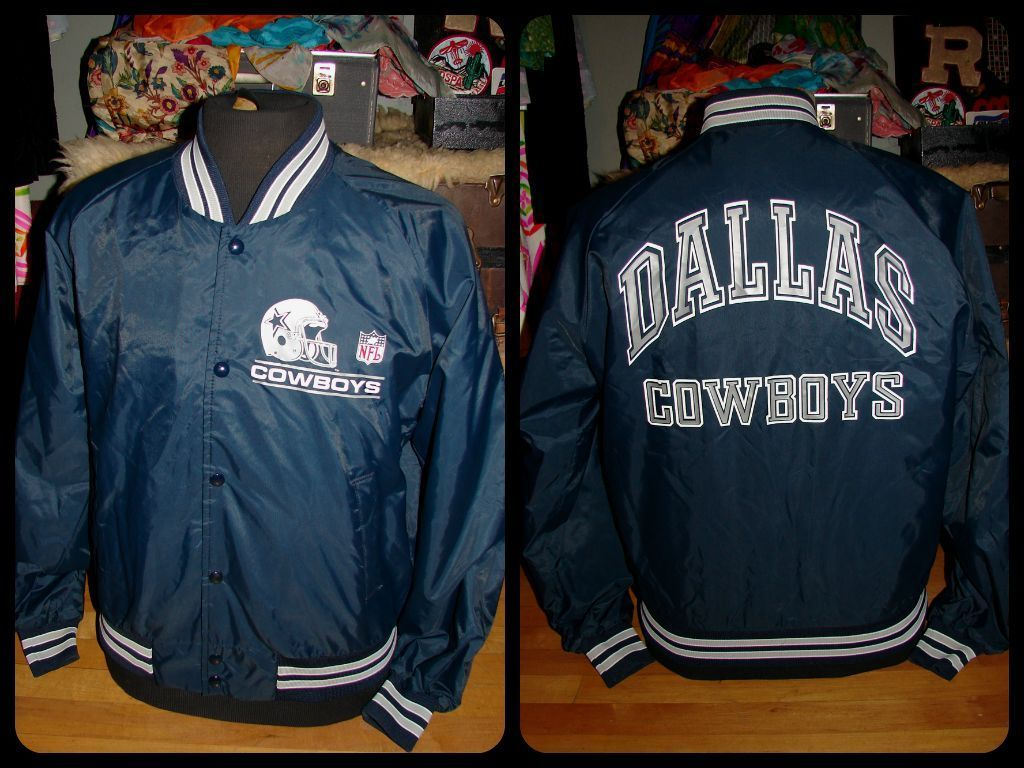 RARE Vintage 80s Dallas Cowboys NFL Football Starter Style USA Made ...