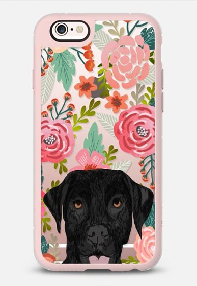 881d31268a Black Lab cute labrador retriever pet portrait dog gifts custom dog person  must have cell phone transparent case iPhone 6s case by Pet Friendly |  Casetify