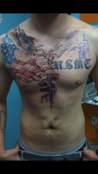 Large On Chest