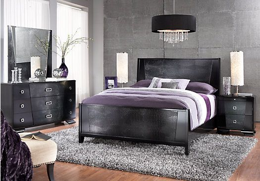 Sofia Vergara Biscayne 5 Pc Queen Panel Bedroom At Rooms To Go Roomstogo