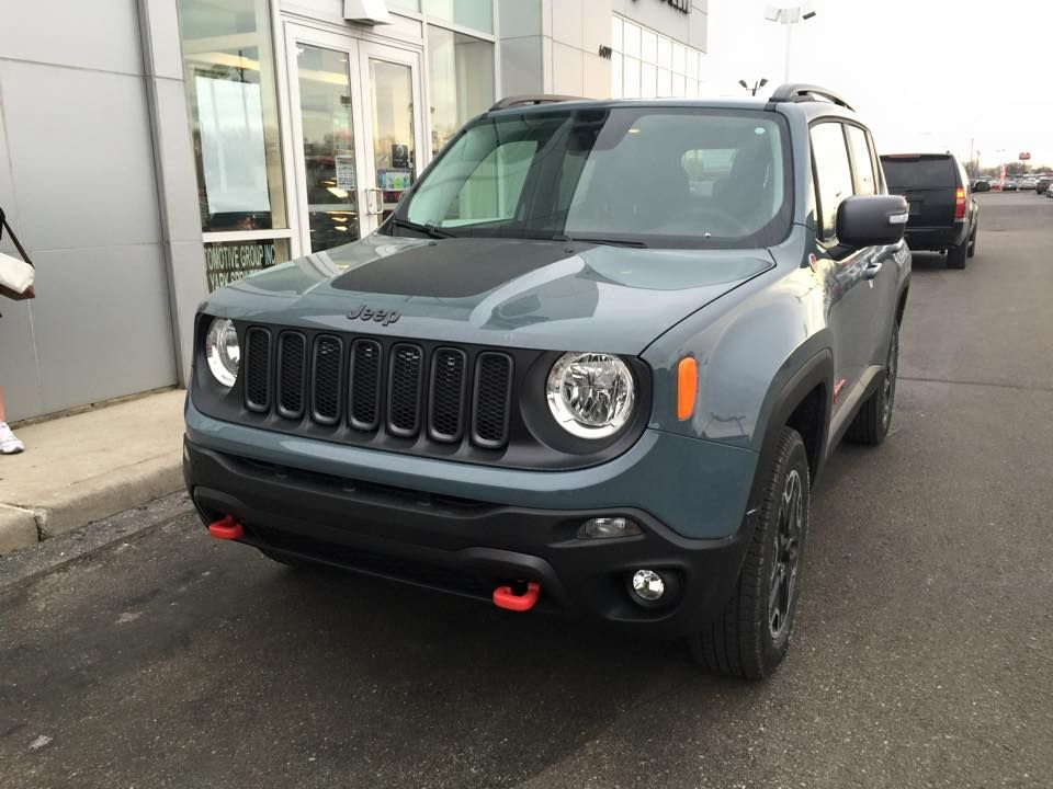 Test Drove A Renegade Trail Hawk Today Jeep Renegade Forum