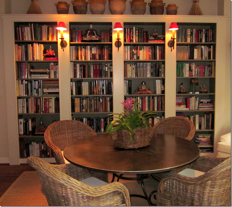 Kooboo Wicker Chair: Decor, Built In Bookcase, Home Libraries