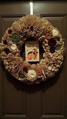Happy Thanksgiving Wreath!