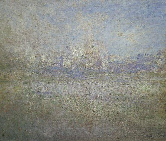 Famous Painting Contrast Art