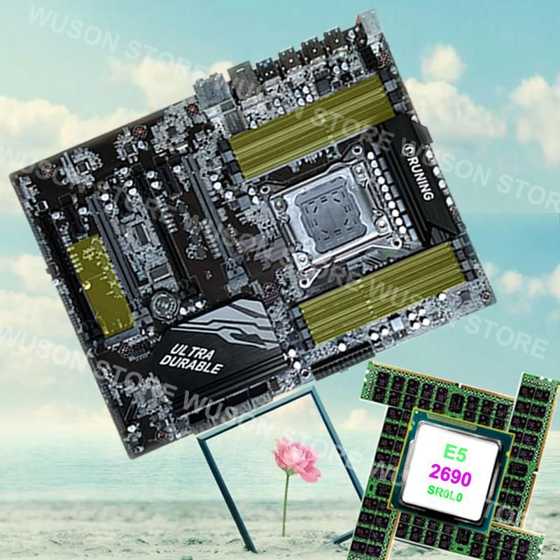 Promotion Runing Super ATX X79 motherboard 8 RAM slots max 128G 1866
