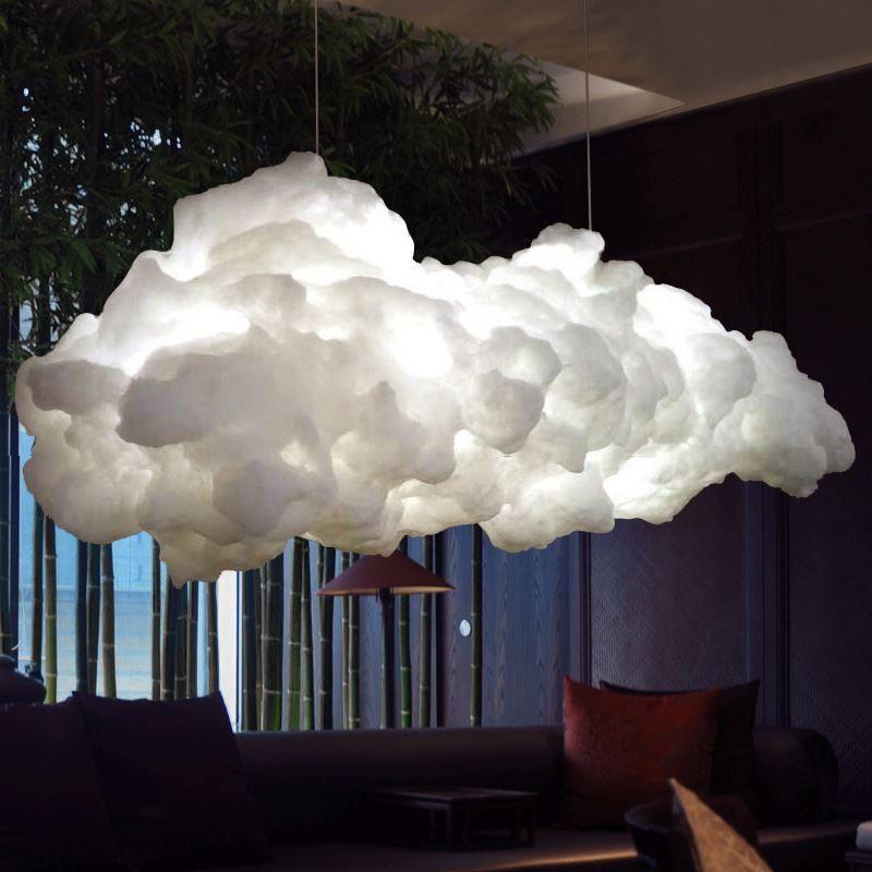 Modern Creative Romantic White Clouds Pendant Lights Led ...