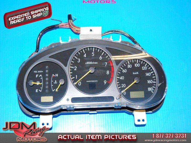 Subaru Impreza 20022003 Automatic Gauge Cluster (km/h