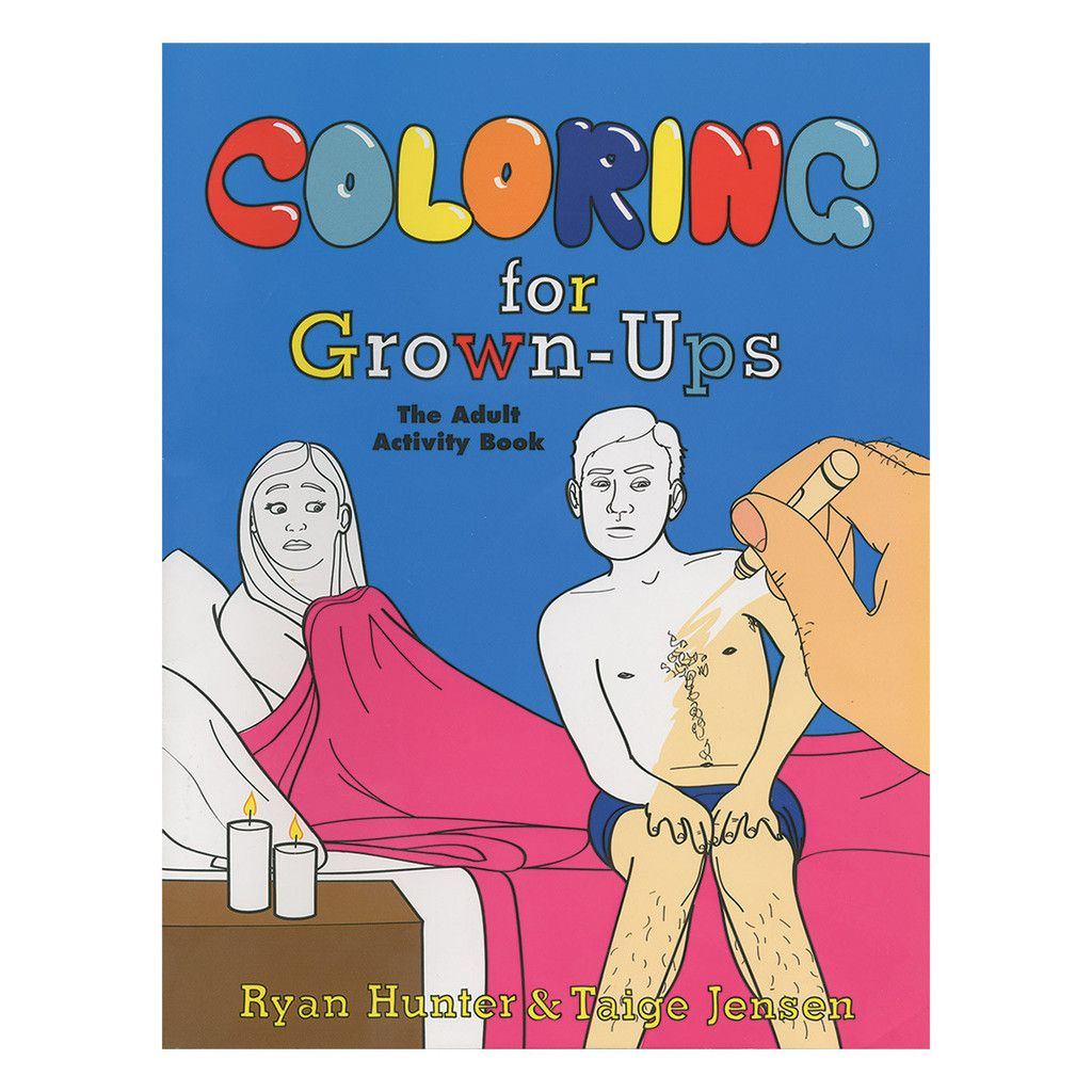 Get A Little Naughty With Your Doodling Adult Coloring Books Are Here For Ryan HunterActivity