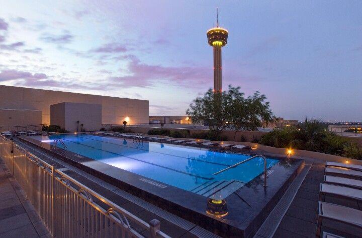 Grand hyatt pool san antonio tx blue haven pools san - Swimming pools in san antonio texas ...