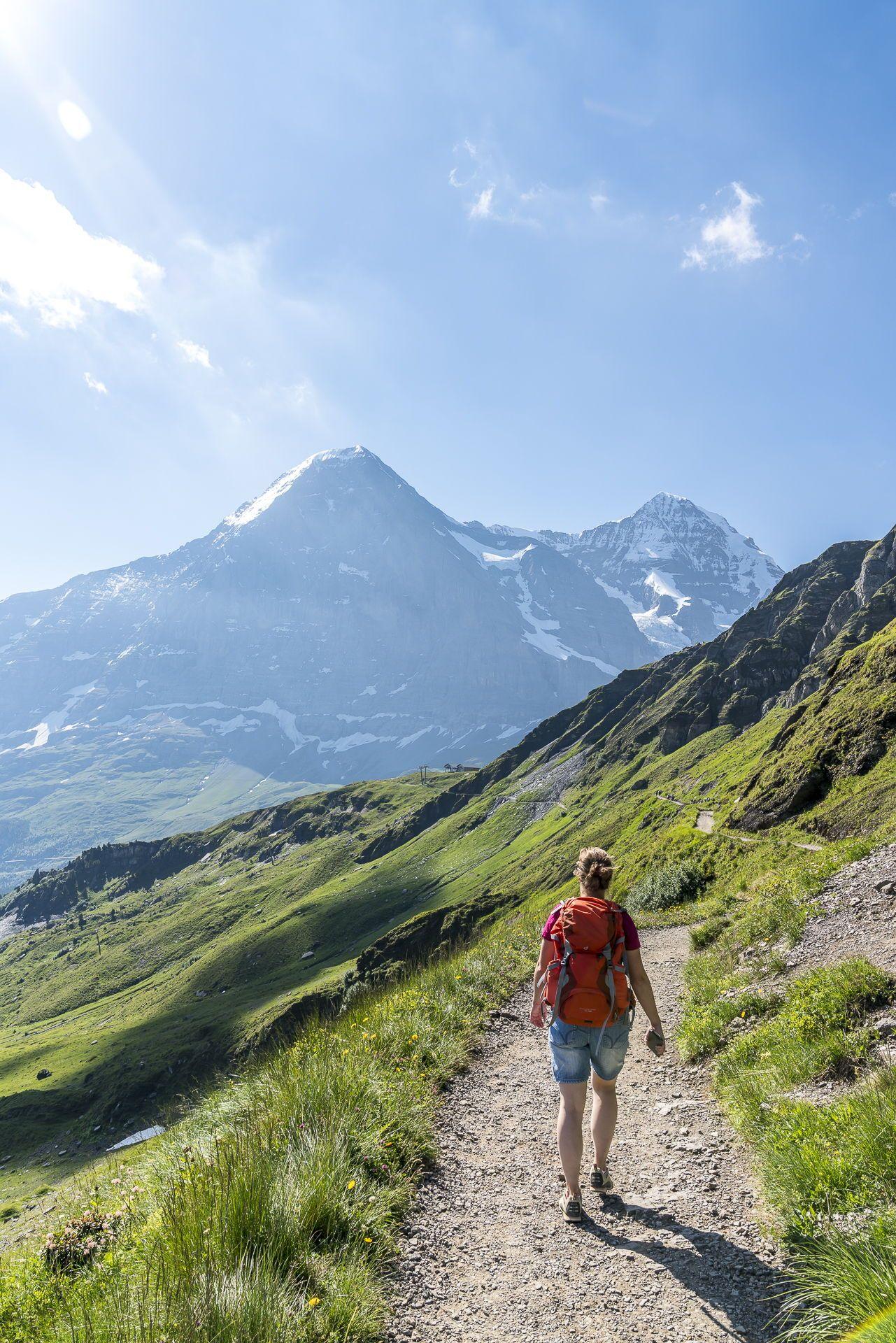 Panoramaweg Männlichen Kleine Scheidegg Wanderung im