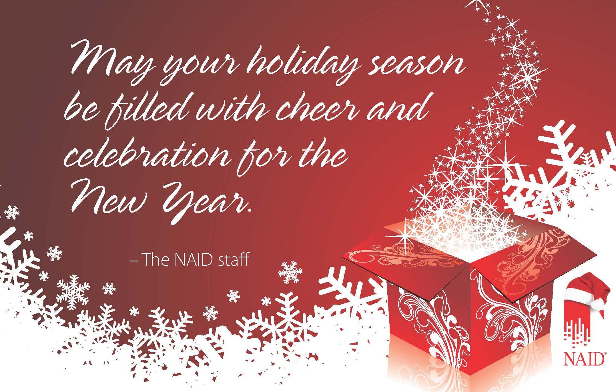 A Holiday Message From The Naid Staff Miscellaneous Pinterest