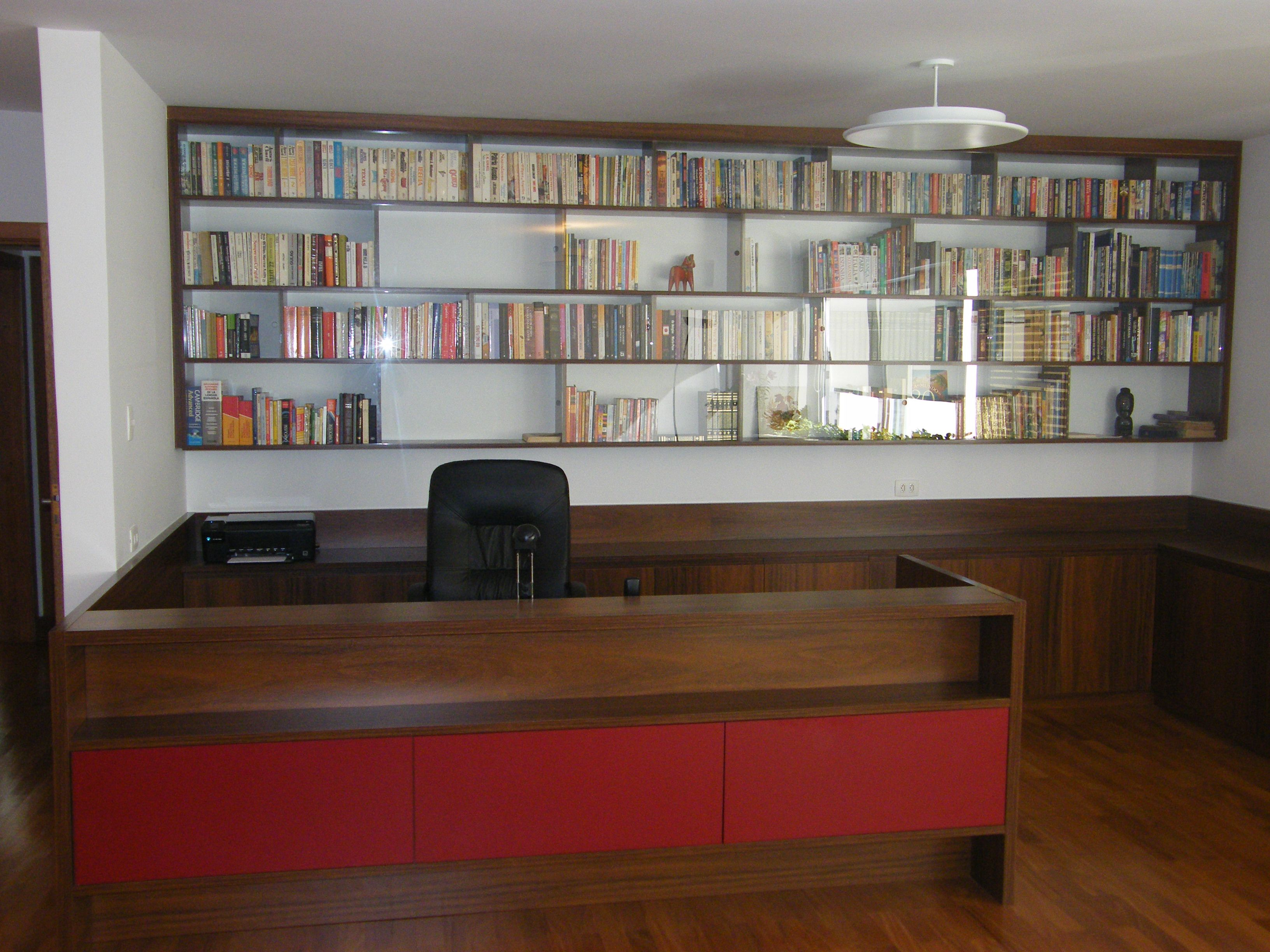 HOME OFFICE INTEGRADO C/ SALA