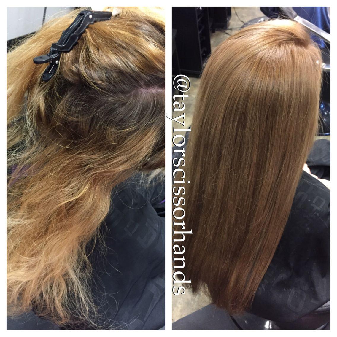 Color Correction Long Pretty Hair