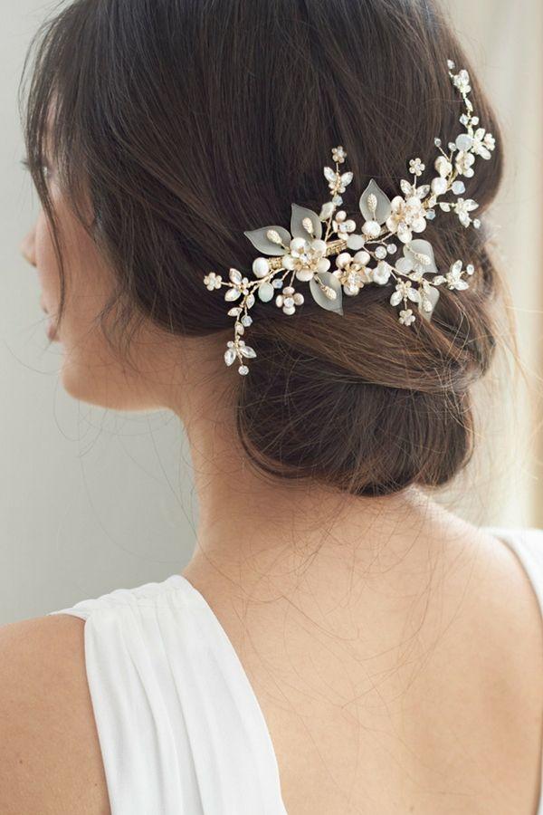 8b324c14ec Claire Bridal Hair Clip in 2019 | Bridal Combs & Clips | Wedding ...