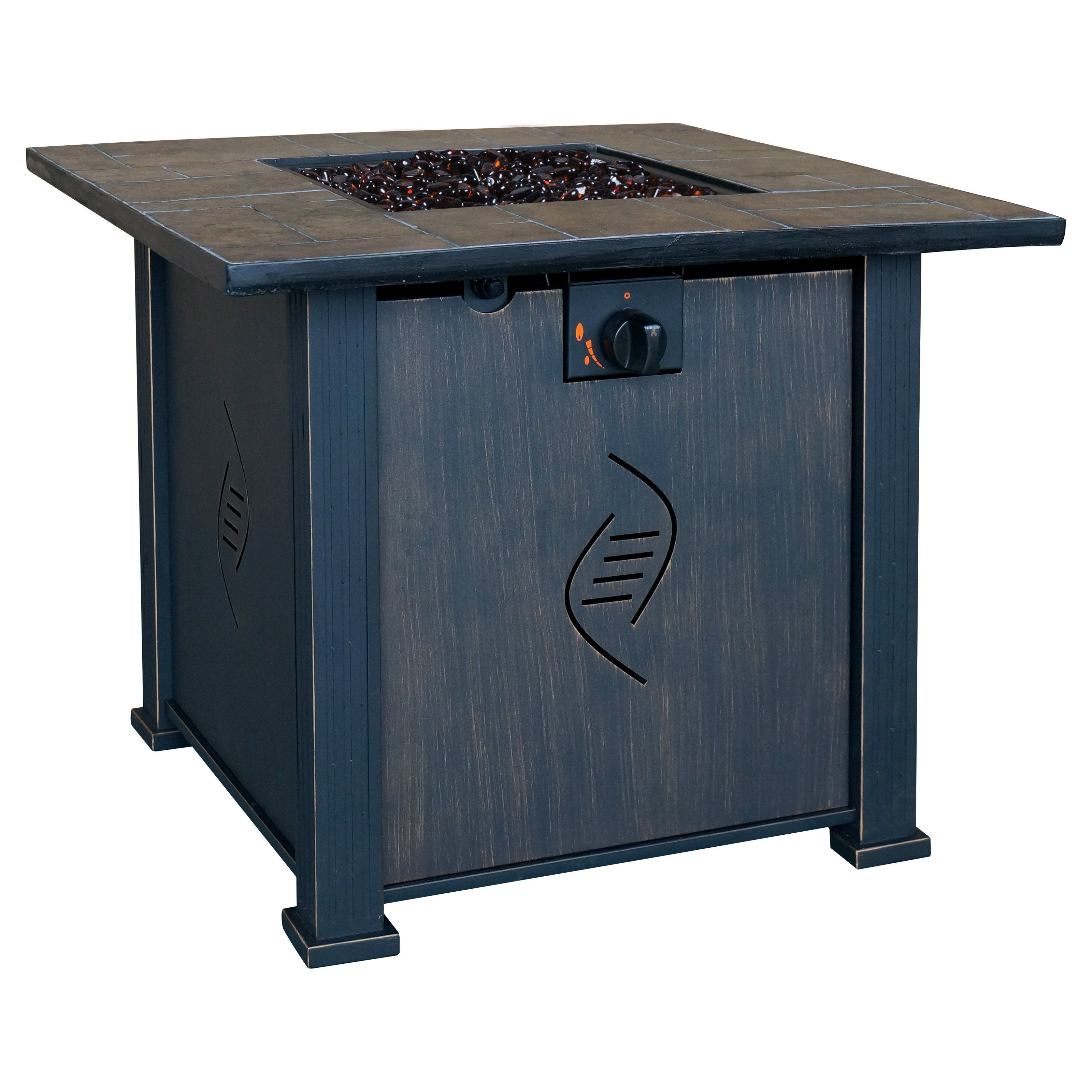 Bond lari gas fire table with cover from hayneedle purchase
