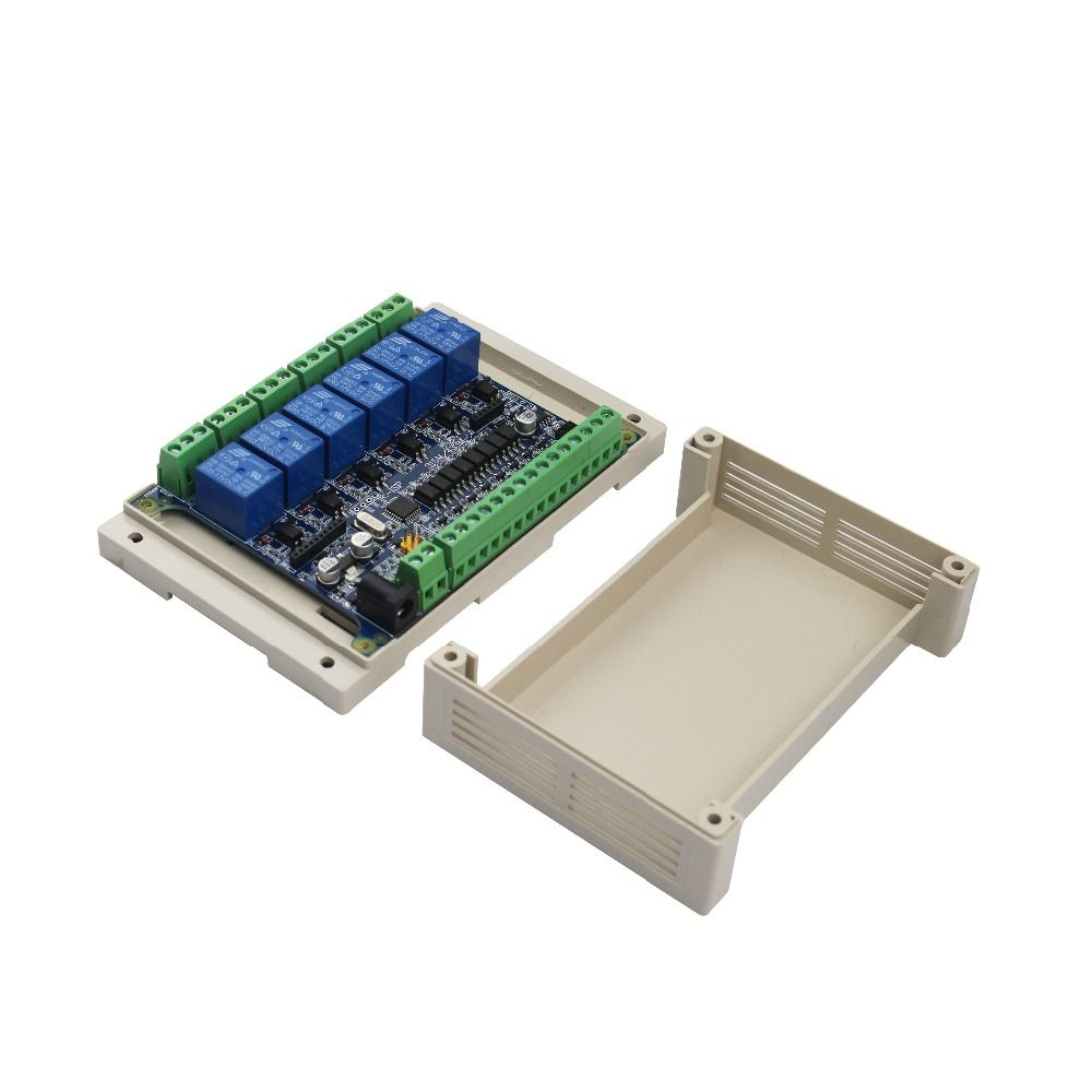 6 Way Relay Module Controller Channel Abs Case For Arduino Affiliate