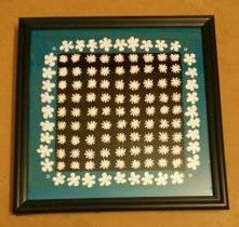 Tile Painting - Flowers on Tiles